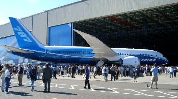 boeing 787 avioes entre os maiores