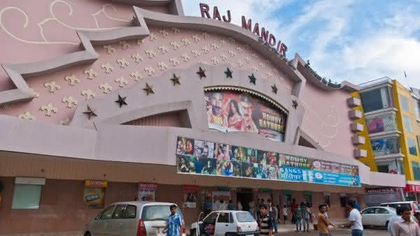 Raj Mandir Cinema um dos melhores cinemas