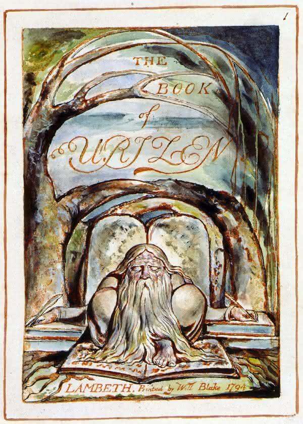 The First Book of Urizen um dos livros mais caros da historia
