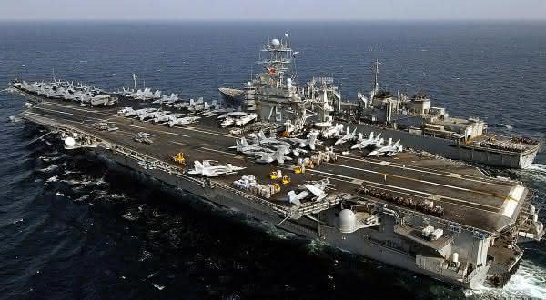 Classe Nimitz maior navio de guerra do mundo