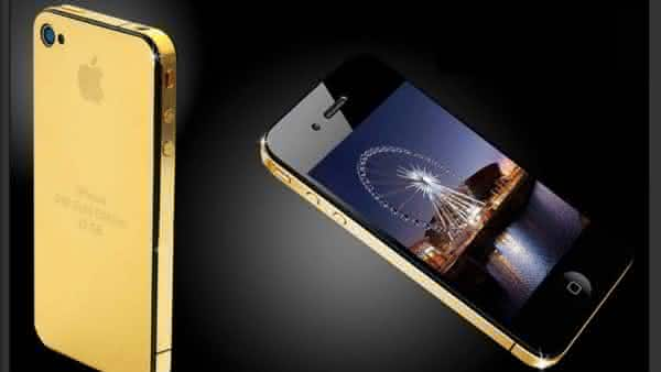 Goldstriker iPhone 3GS Supreme mais caros