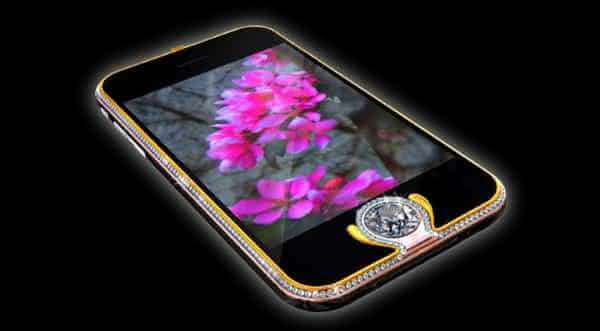 Kings Button iPhone smarthphones mais caros do mundo