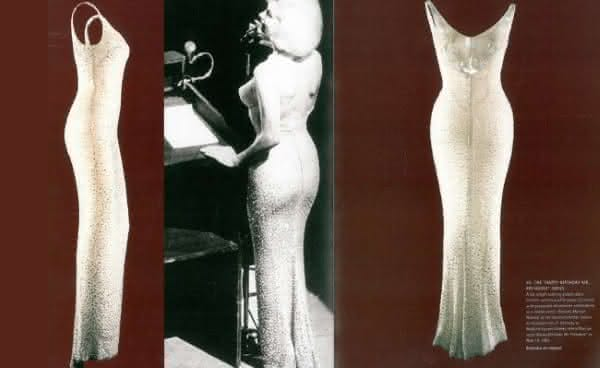 Marilyn Monroes vestido de feliz aniversario