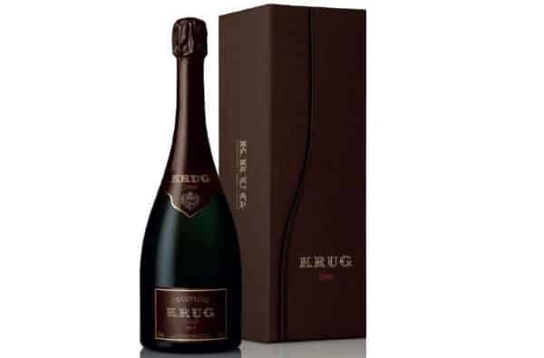 champanhe mais caros Krug Brut David Sugar