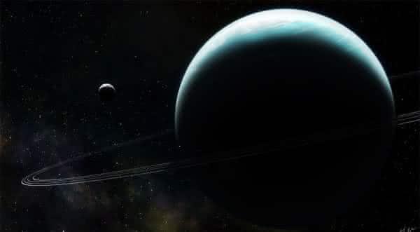 urano um dos maiores planetas do sistema solar