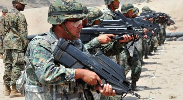 F2000 Assault Rifle armas mais perigosas