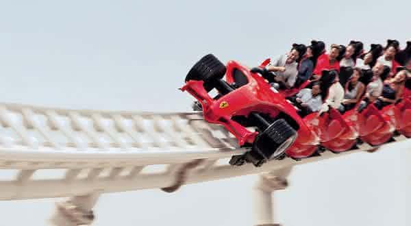 Formula Rossa a melhor montanha russa do planeta