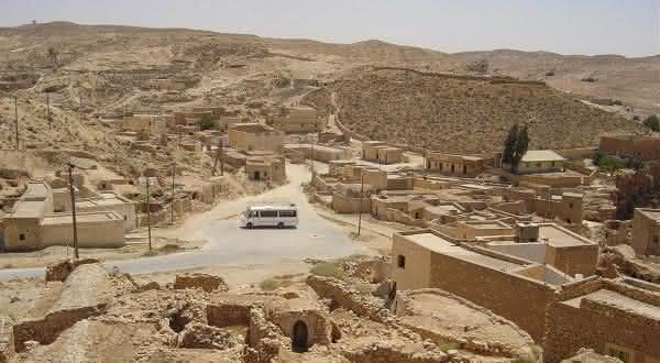 Ghadames na Libia entre os paises mais quentes do mundo