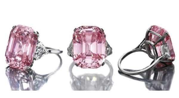 Graff Pink entre os diamantes mais caros do mundo