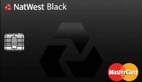 NatWest Black MasterCard entre os cartoes mais valiosos