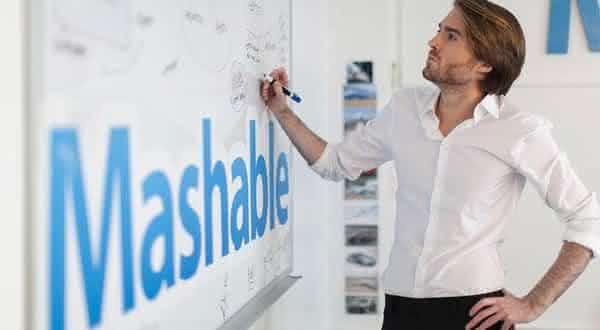 Pete CashMore mashable entre os blogueiros mais bem apgos