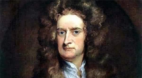 Sir Isaac Newton entre os amis conhecidos do mundo