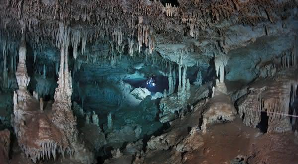 Sistema Ox Bel Ha cavernas impressionantes