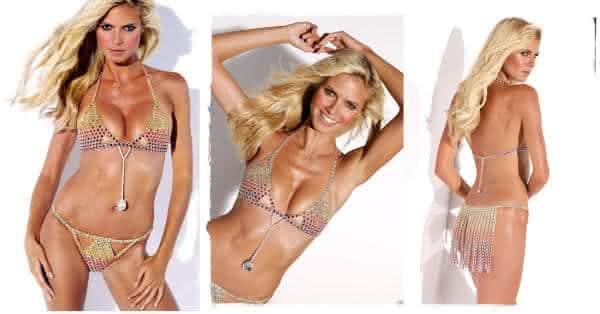 Very Sexy Fantasy Bra Heidi Klum lingerie mais cara