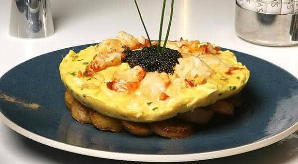 Zillion Dollar Lobster Frittata um dos pratos mais caros do mundo
