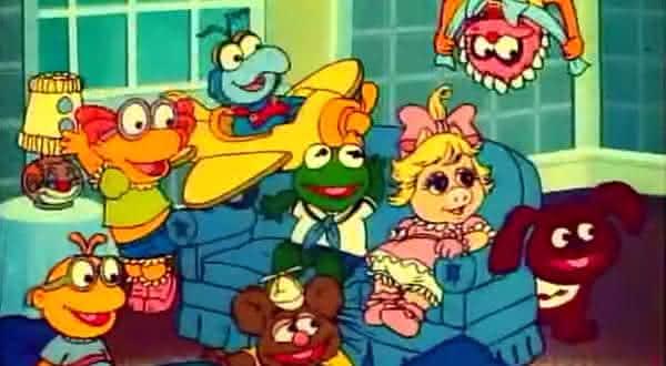 muppets baby desenhos animados dos anos 80