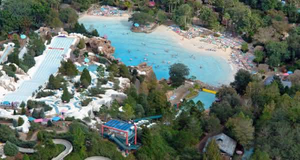 parque aquatico Blizzard Beach usa