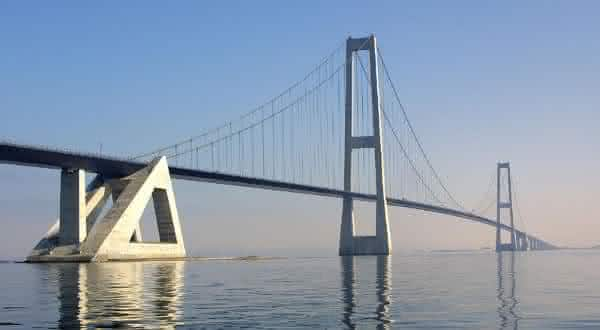 Great Belt ponte entre as mais caras do mundo