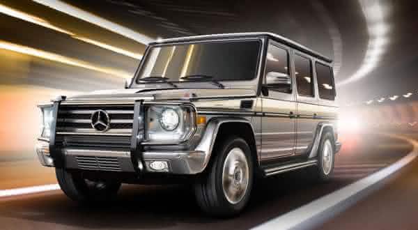 Mercedes-Benz G63 AMG um dos modelos de carros SUV mais caros
