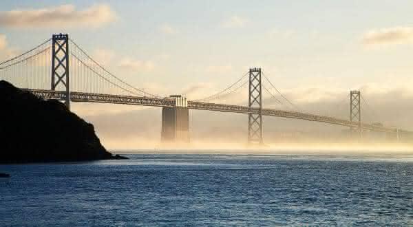 Oakland Bay Bridge san francisco entre as pontes mais caras ja construidas