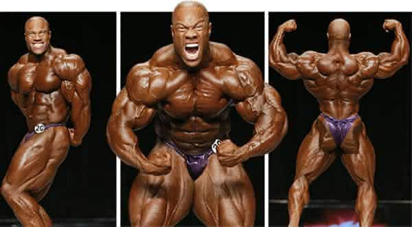 phil heath entre os homens mais fortes do mundo