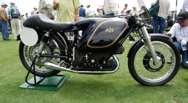 AJS E95 Porcupine 1954 entre as motos de raridade