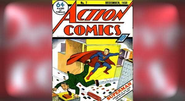 Action Comics 7 1938 hqs mais valiosos do mundo