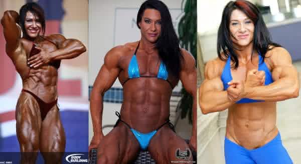Alina Popa  entre as mulheres mais forte musculosa do mundo