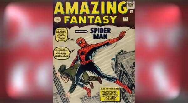 Amazing Fantasy 15 1962 um dos hqs mais valiosos