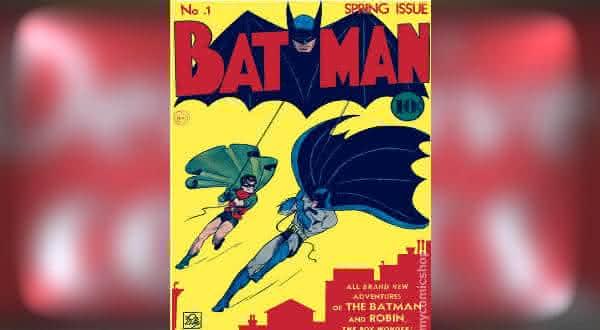 Batman 1940 um dos hqs mais caros do mundo