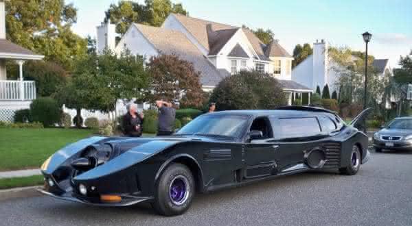 Batmobile Limousine entre os carros mais caros
