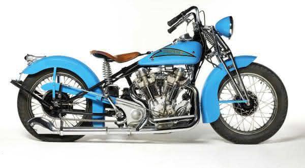 Crocker 1937 Hemi Head entre as motos mais caras dos leiloes
