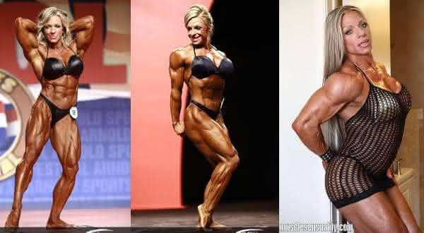 Debi Laszewski entre as mulheres mais musculosas fisiculturistas