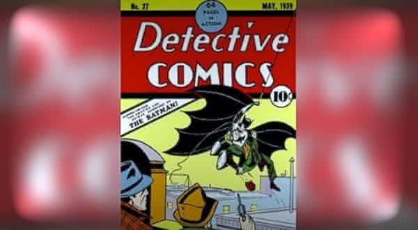 Detective Comics  Maio de 1939 um dos mais caros quadrinhos