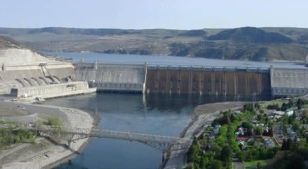 Grand Coulee entre as maiores hidreletricas do mundo