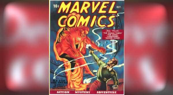 Marvel Comics 1939 entre os hqs mais caros do mundo