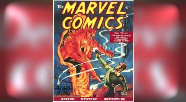 Marvel Comics 1939 entre os hqs mais caros do mundo
