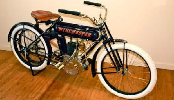 Winchester 1910 motos antigas mais raras