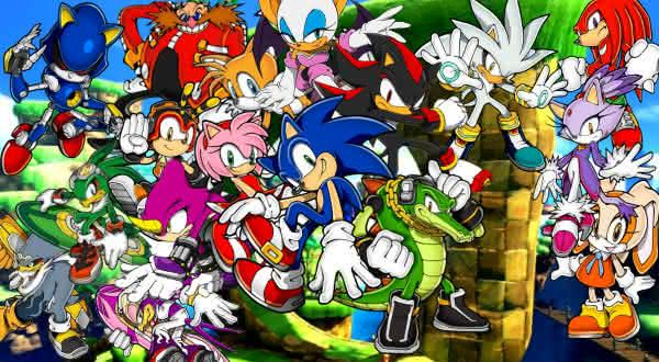 sonic entre as series de games mais populares do mundo
