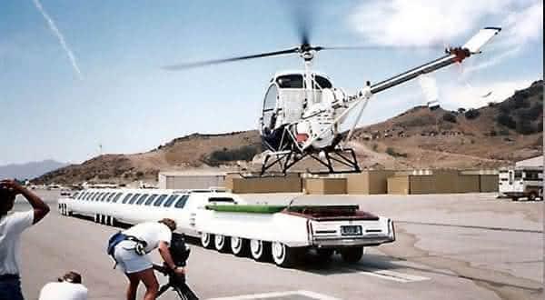the american dream limousine heliporto