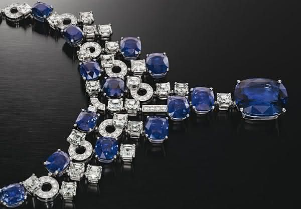 Colar Bulgari Safira e Diamante entre os colares mais caros do mundo