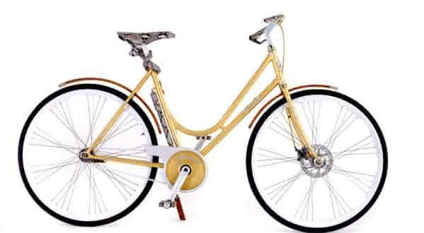 Montante Luxury Gold Collection entre as bicicletas mais caras do mundo