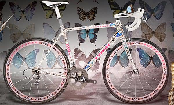Trek butterfly Madone uma das bicicletas mais caras do mundo