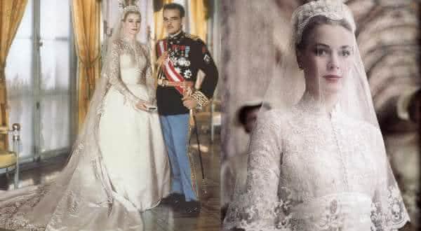 75e75a89e Vestido Helen Rose de Grace Kelly entre os vestidos de noiva mais caros do  mundo
