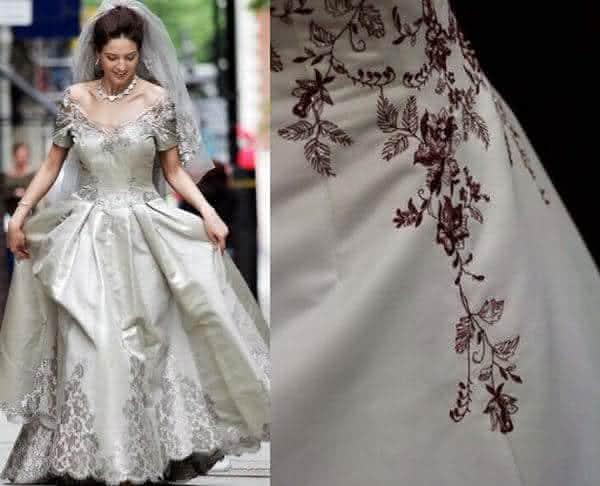 Vestido Platina entre os vestidos de noiva mais caros do mundo