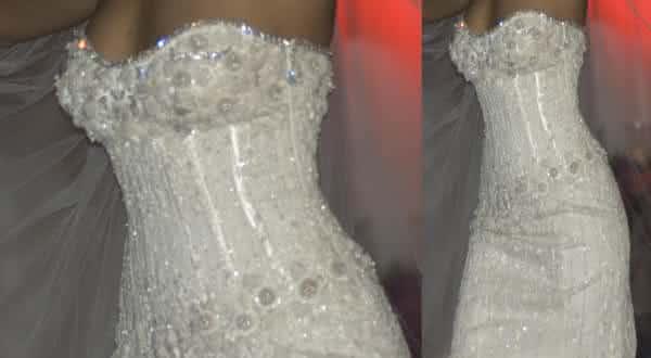 Vestido de diamante entre os vestidos de noiva mais caros do mundo