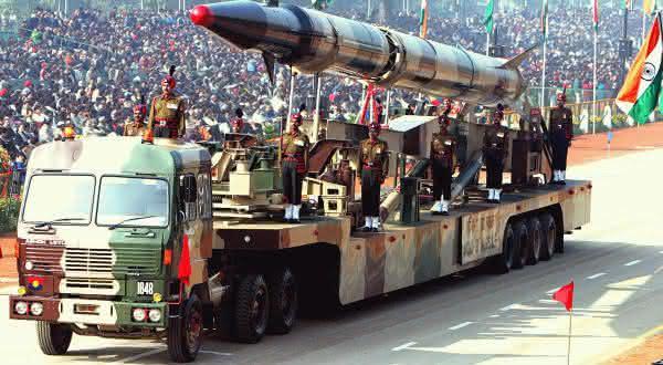 india entre as maiores potencias em armas nucleares