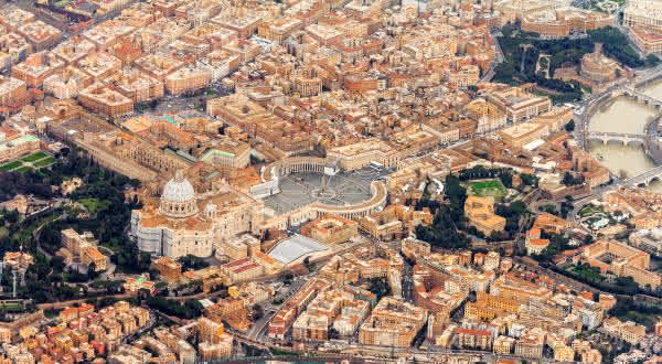 vaticano entre os menores paises do mundo