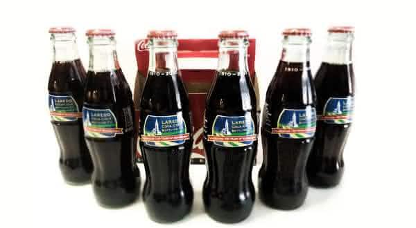 6 100th Anniversary Laredo Coca Cola Bottling Co entre os refrigerantes mais caros do mundo