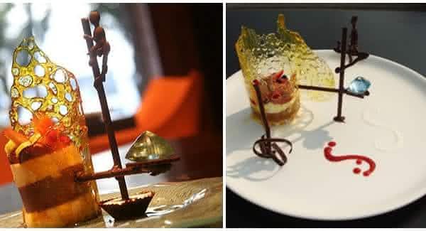 A extravagante fortaleza de palafita do pescador entre as sobremesas mais caras do mundo
